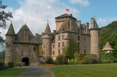 Chateau de Pesteil, France (Would it be selfish of me to request this castle for Christmas?)
