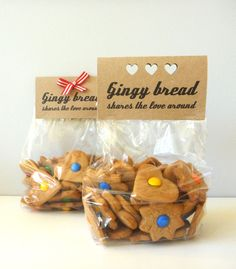 Cookie Packaging Idea.... think i'm going to do baked goods for ...