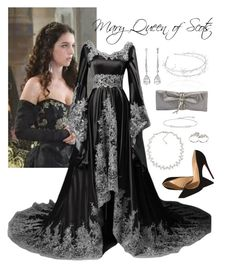 Reign: Mary Queen of Scots Ball Gowns Fantasy, Fantasy Dress, Medieval Dress, Medieval Fashion, Old Fashion Dresses, Fashion Outfits, Reign Dresses, Reign Fashion, Queen Outfit