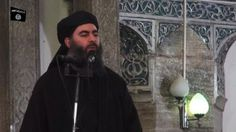 An Iraqi lawmaker says Daesh leader Abu Bakr al-Baghdadi is in Iraq's western province of Anbar, and being protected by US military forces. New York Times, Abu Bakr Al Baghdadi, Donald Trump, Iraqi Army, Global Conflict, Bagdad, Arab Men, Human Rights, Rolodex