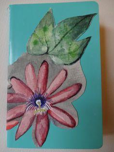 Petit carnet Aquarelle sur papier torchon  http://marie-pia.alittlemarket.com
