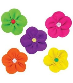 Fancy Fleece Flower Project courtesy of June TailorSkill Level: No experience necessary Crafting Time: hours Skill Level: No experience necessary Fleece Crafts, Fleece Projects, Felt Crafts, Fabric Crafts, Sewing Crafts, Sewing Projects, Project Projects, Sewing Tips, Felt Flowers