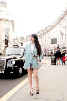 The Cherry Blossom Girl - Regent Street London 01