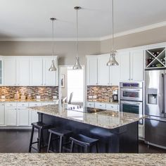 Kitchen | Rowlett Lakehouse Staged to DWELL | Michelle Lynne INTERIORS Group