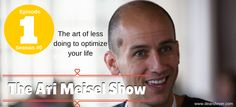 How to optimize your life with productivity expert Ari Meisel. Your Life, Productivity, Interview, Tips, Movie Posters, Film Poster, Billboard, Film Posters, Counseling
