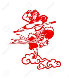 Chinese Traditional Paper-Cut monkey - Google Search