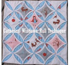5 Minute Flexible Quilt Block! Beginners It's Easy & Fast! Fold, Twist, & Stitch! 3 Videos Lightup Cathedral Windows