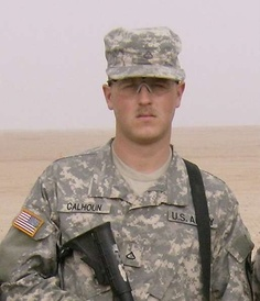 Army Spc. Derek A. Calhoun Died June 23, 2007 Serving During Operation Iraqi Freedom 23, of Oklahoma City; assigned to the 2nd Battalion, 8th Cavalry Regiment, 1st Brigade Combat Team, 1st Cavalry Division, Fort Hood, Texas; died June 23 in Taji, Iraq, of wounds sustained when an improvised explosive device detonated near his vehicle.