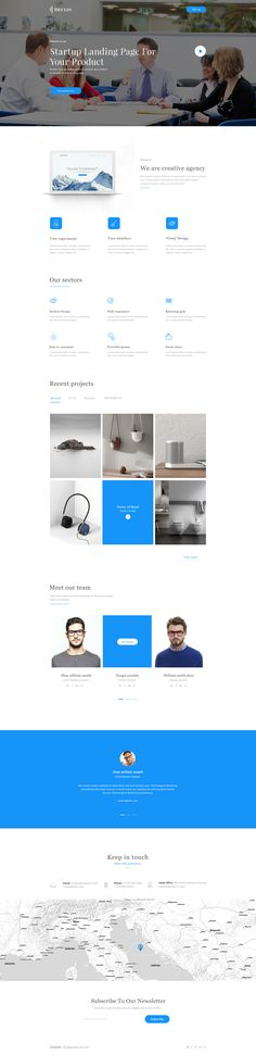 Started landing page 02