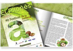 Revista El Piloñes. 40 Festival Avellana de Infiesto, 2011.  Publicación anual del Ayuntamiento de Piloña. Se edita coincidiendo con el Festival de la Avellana (primer domingo de octubre) y marca el inicio de las actividades culturales y festivas del otoño en el concejo.