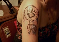 Native tattoo arm