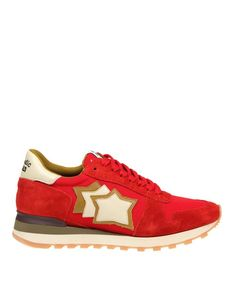 Shop Atlantic Stars Argo Sneakers In Red Suede and save up to EXPRESS international shipping! Canvas Sneakers, Shoes Sneakers, Argo, Star Shoes, Red Fabric, White Leather, Converse, Footwear, Mens Fashion