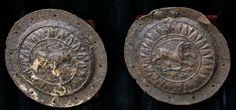 Dacian iron shields National History Museum Bucharest-Romania