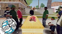 EL FUNERAL DE CJ | GTA San Andreas (Loquendo)