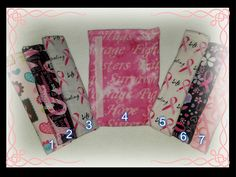 Breast Cancer Awareness Seat Belt Strap Covers by SwtMaggisSewnSews on Etsy