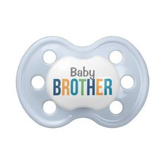 Boy's Custom Baby Pacifier ($8.35) ❤ liked on Polyvore featuring baby, baby stuff and baby clothes