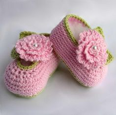 Crochet Dreamz: Orchid Sandals Crochet Baby Booties Pattern