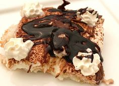 What's Cookin' Italian Style Cuisine: Tiramisu (without eggs) Recipe with Hot Fudge, Nutella and Frangelico