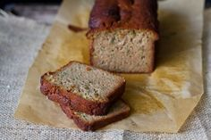 Zucchini Bread {using almond flour} {gluten free, and for low carb, use sugar-free honey}