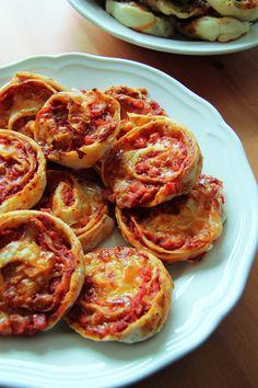 Pizzaschnecken zweierlei - Ninni bloggt