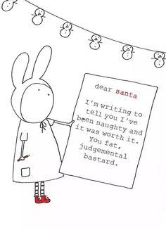 Naughty note
