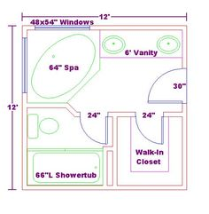 Best Floor Plan For A 8X14 Bath And 11X13 Bedroom House 400 x 300