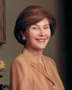 Laura Bush - George W. Bush's wife is the only first lady to give birth to twins, to work as a librarian and to substitute for a president in his weekly radio address.