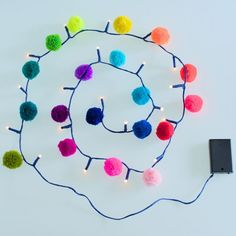 Pom Pom Light Chains
