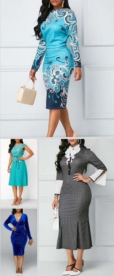 Qearal Bridesmaid Chiffon Dresses Wedding - Now Outfits Classy Dress, Classy Outfits, Fall Outfits, Cute Outfits, Modest Fashion, Fashion Dresses, Mode Simple, New Arrival Dress, Costume