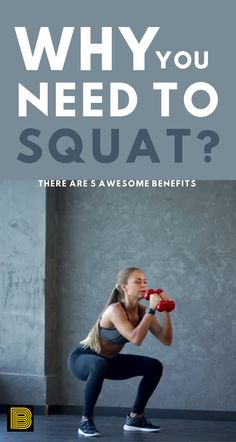 Everyone says squat is the king of strength training and one of the best full-body exercises. Read this article to know why. - 5 Amazing Benefits of Squat Fitness Goals, Fitness Tips, Fitness Motivation, Gym Training, Strength Training, Benefits Of Squats, Health And Wellness Coach, Secret To Success, Body Exercises