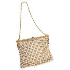 Breathtaking 1940's 18k Gold & Pearl Handbag with Sapphires & Diamonds