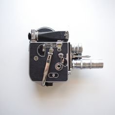 Bolex H-16 16mm Movie Camera - 3 lenses Elgeet 3 inch, Schneider Cine-Xenon, and Kodak Anastigmat - Hard Shelled Velvet Lined Carrying Case by ThisCharmingManCave on Etsy  https://www.etsy.com/listing/275374440/bolex-h-16-16mm-movie-camera-3-lenses
