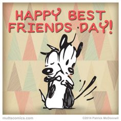 Celebrating Best Friends Day ~ mutts