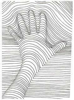 To print this free coloring page «coloring-op-art-illusion-optique-main», click on the printer icon at the right