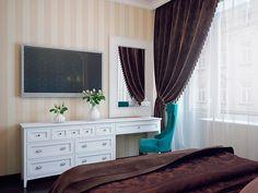 Bedroom Built In Wardrobe, Master Suite Bedroom, Woman Bedroom, Purple Bedrooms, Bedroom Colors, Bedroom Layouts, Bedroom Styles, White Bedroom Furniture, Bedroom Decor