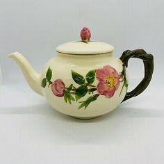 Vintage Franciscan Desert Rose USA Teapot Large 4 Cup Mint  | eBay