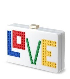 - Les Petits Joueurs - Multicolor Love Clutch-9 | RESTIR リステア
