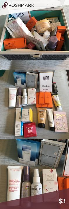 FREE SAMPLES WITH PURCHASE Hello everyone!! I took a hiatus off poshmark because I got so busy with life (moving, buying a house, birthdays, funerals, ect.) I will be closing my poshmark at the end of august and moving over to mercari - I don't feel right upcharging just to make a minimal profit. While supplies last I will be giving these free samples away on a first come first serve basis. For each item purchased you get a free sample! You can pick a specific one or I will add it as a…