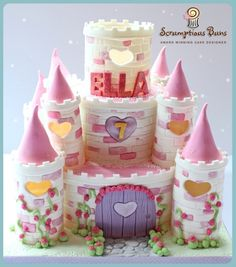 Castle Cake (going to make this for my little sis bday)