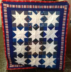 Patriotic Quilt Tues. Morning Quilters