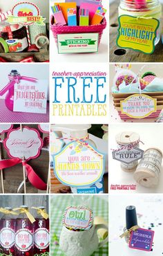 201 Best Diy Teacher Gifts Images On Pinterest Teacher Gifts