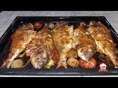 طريقة تحضير السمك بالخضار في الفرن ولا اروع من تقديم شهيوات ام انس - YouTube