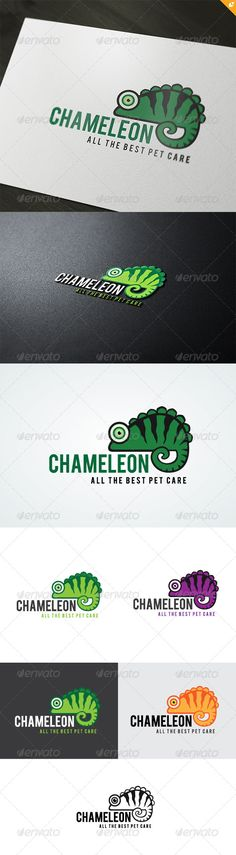 Chameleon Logo #GraphicRiver This logo design for all creative business. Consulting, Excellent logo,simple and unique concept. Logo Template Features AI and EPS (Illustrator 10 EPS) 300PPI CMYK 100% Scalable Vector Files Easy to edit color / text Ready to print Font information at the help file If you buy and like this logo, please remember to rate it. Thanks! Created: 24May13 GraphicsFilesIncluded: VectorEPS #AIIllustrator Layered: No MinimumAdobeCSVersion: CS Resolution: Resizable Tags…