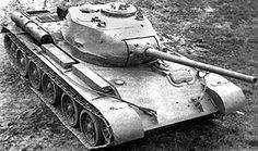 T-44-85 prototype medium tank in field trials, 1944