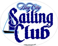Advertise your club! Sailing Yacht Club Car Window Decals Magnets. http://www.allsportdesigns.com/Sailing-car-window-stickers-decals-magnets-p/sailing101-bb-c.htm