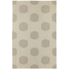 Capel Rugs // Genevieve Gorder NY Dot Gray Area Rug