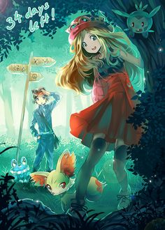 pokemon-xy:i know these games are out just had post for the art its great Artist: Miyuli Website: Tumblr