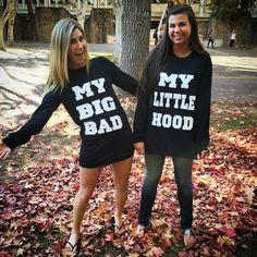 Big + Little = <3 Adam Block Design | Custom Greek Apparel & Sorority Clothes | www.adamblockdesign.com