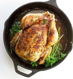 One-Hour Roast Chicken.