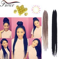 Braiding Hair 3D Cubic Twist Crochet Braids Crochet Hair Extension Crochet Braid Hair Box Braids Faux Locs Crochet Hair